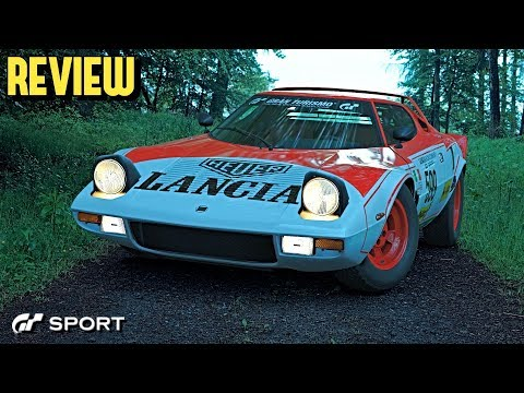 GT SPORT - Lancia Stratos REVIEW