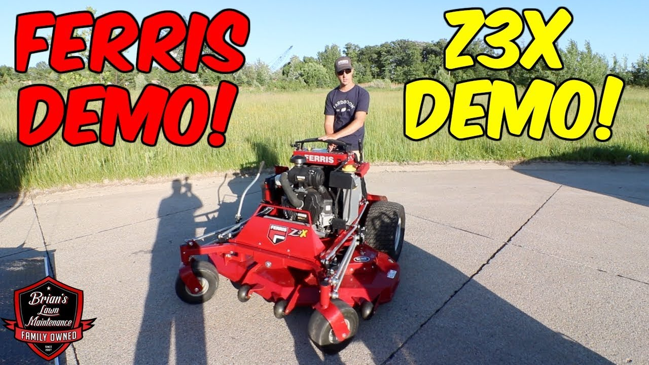 Ferris Z3X Stand On Lawn Mower Demo! ► Testing The New Z3X 61