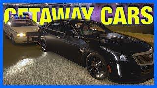 Forza Horizon 3 Online : BEST GETAWAY CARS!!