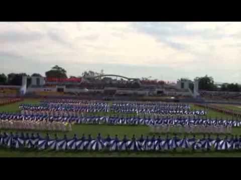 Lễ khai mạc Hội khỏe phù đổng tỉnh Bà Rịa Vũng Tàu lần VIII -- năm 2011 part 2