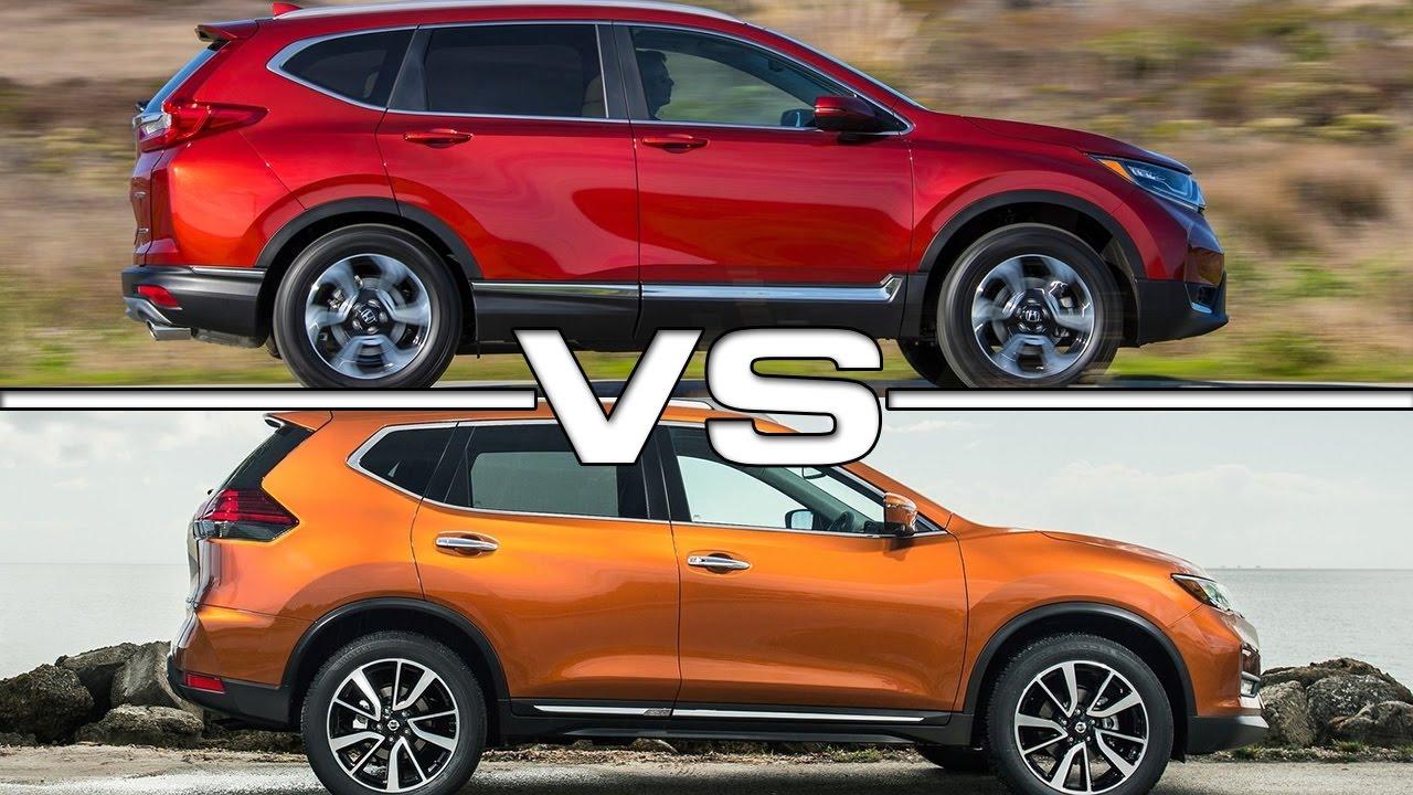 Rogue Vs Murano  Honda Cr V Vs  Nissan Rogue Youtube