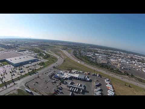 Drone twirl of Denver and Commerce city ,CO