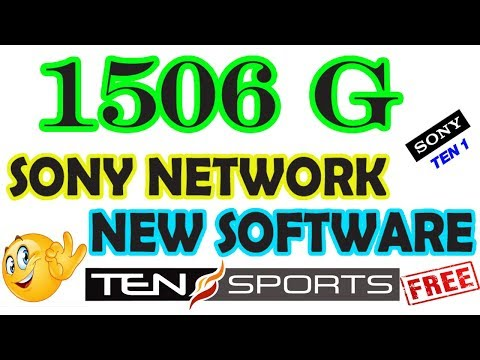 1506 G Sony Network New Software Available Now  - YouTube