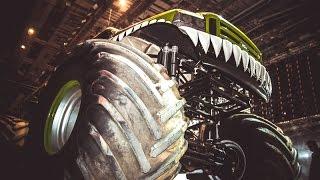 МОНСТР МАНИЯ в Петербургском СКК (гонки monster truck). Часть 1