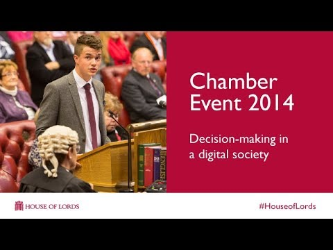 Chamber Event 2014 | Full video | House of Lords