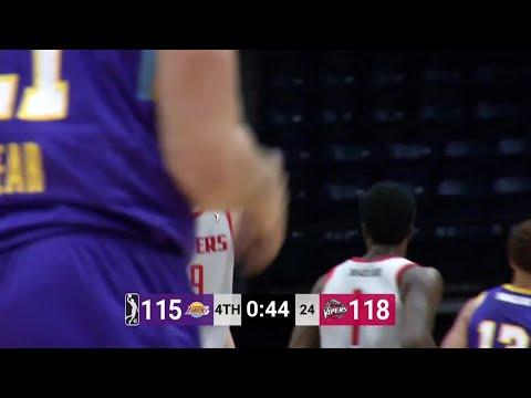 Zhou Qi (23 points) Highlights vs. South Bay Lakers