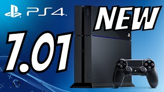 PS4 7.01 Firmware Update System Software - No Warning this time?