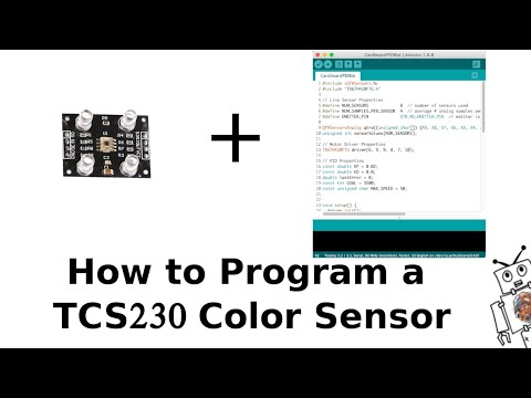 How To Program A TCS230 Color Sensor