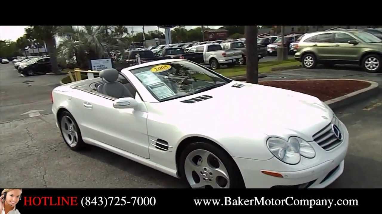 2005 mercedes benz sl500 preowned mercedes benz for Baker motors jaguar charleston sc
