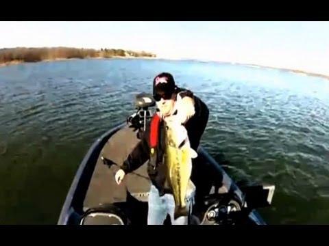 Kentucky lake winter bass fishing report youtube for Dave stewart fishing report