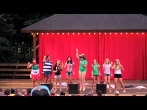 Camp Rim Rock For Girls, General Session 3 Performances 2013