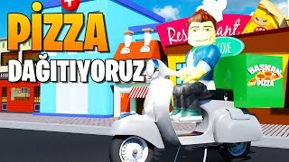 🍕 We're Delivering Pizzas on A Motorcycle! 🛵   Welcome to Bloxburg   Roblox English