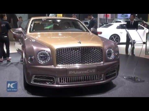 Top Luxury cars of 2016 Beijing Auto Show