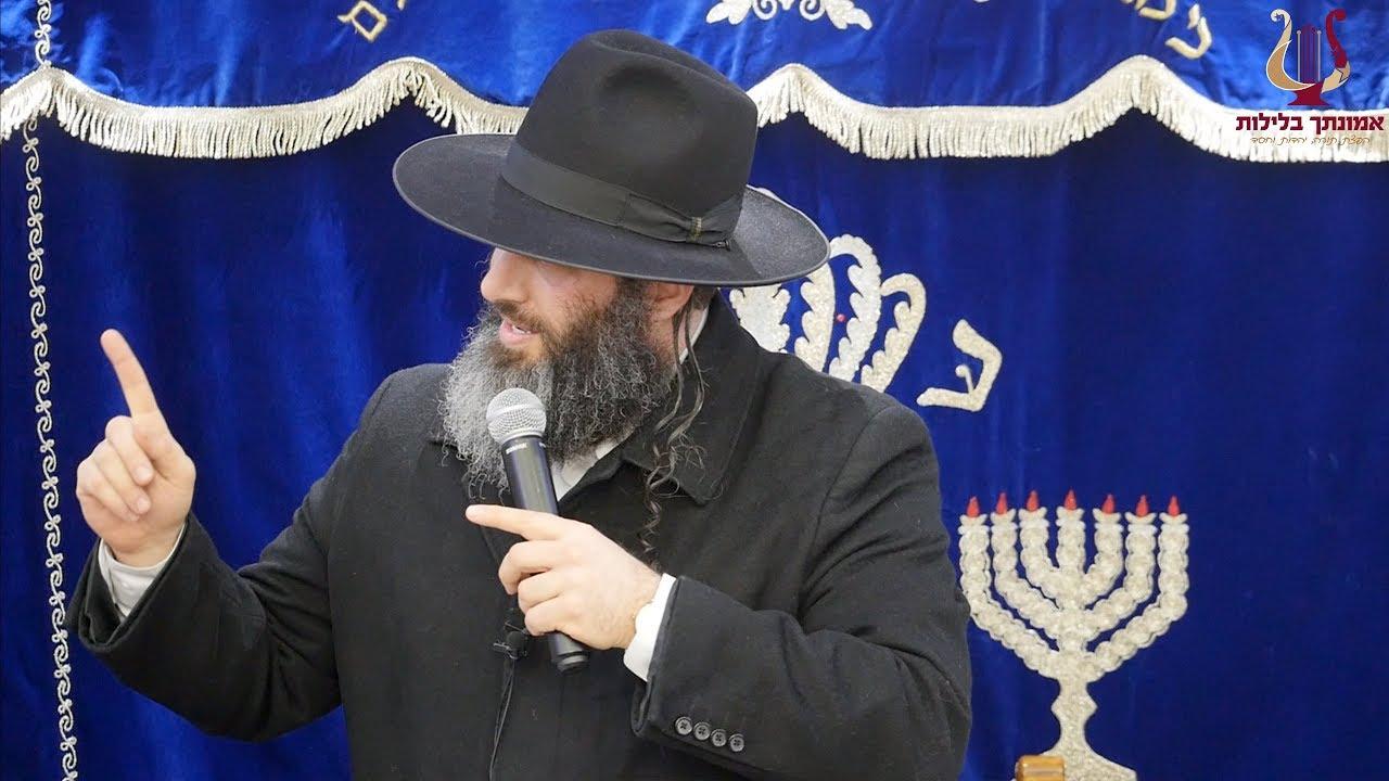 הרב רונן שאולוב בסיפור קורע לב וקשה עד דמעות על יהודי שלא הסכים להוריד שלט חוצות לא צנוע !!