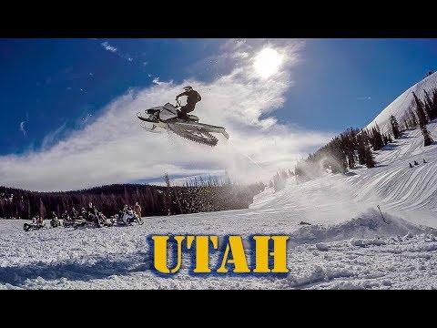 Park City Utah Ski & Snowmobile Trip 2018