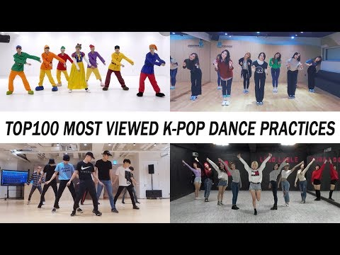 [TOP 100] MOST VIEWED K-POP DANCE PRACTICES •March 2018