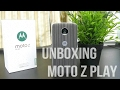 Moto Z Play Unboxing (Indian Retail Unit).