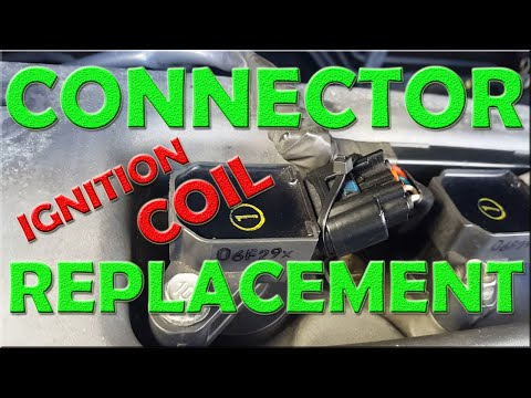 HOW TO REPLACE TOYOTA IGNITION COIL CONNECTOR