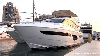 Princess F55 Flybridge Yacht 2019 | India Exclusive | Real-life review