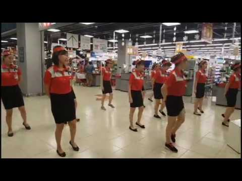 OPENING CEREMONY AT LOTTE MART GVP _ DEMO