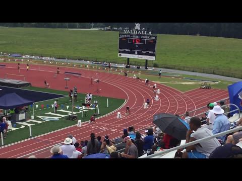 Lambert Girls 4x100 relay preliminary 2017