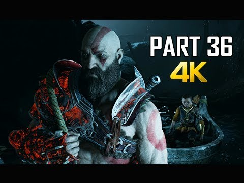 GOD OF WAR Gameplay Walkthrough Part 36 - FATHER'S TRUTH (PS4 PRO 4K Commentary 2018)