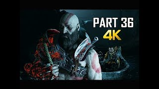 GOD OF WAR Gameplay Walkthrough Part 36 - FATHERS TRUTH PS4 PRO 4K Commentary 2018