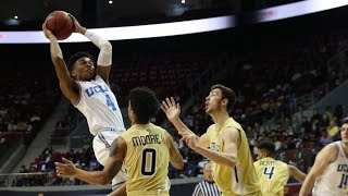 Highights: UCLA men's basketball holds off Georgia Tech in Pac-12 China Game