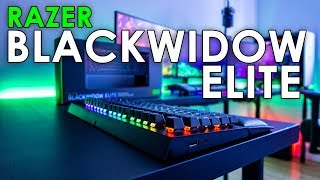 Razer BlackWidow Elite Unboxing