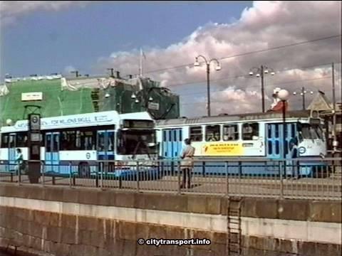 Train, Tram, Bus, Gothenburg Sweden