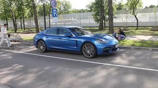 Смотреть видео Porsche Panamera 4S 971   звук выхлопа!! Санкт-Петербург top cars -autonomeroff онлайн