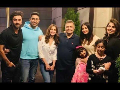 Alia Bhatt-Ranbir Kapoor, Abhishek Bachchan- Aishwarya Rai Bachchan Party In New York | SpotboyE Mp3