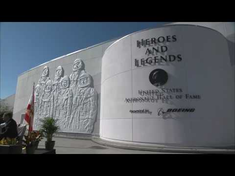 Kennedy Space Center Visitor Complex: Heroes & Legends Grand Opening Ceremony