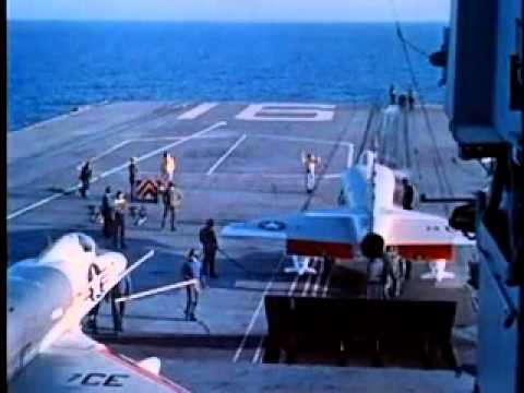 1960s Aircraft Carrier Operations: A-4 Skyhawks
