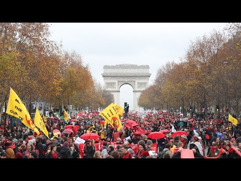 Protest in Paris: Climate Justice Activists Decry Accord as