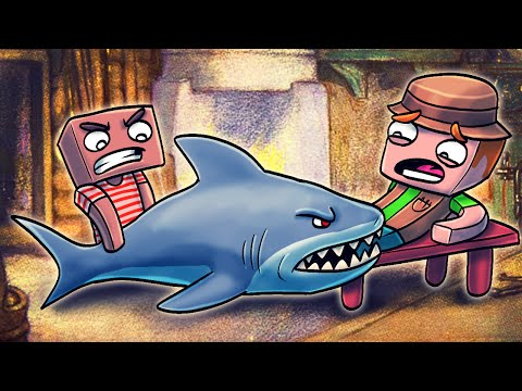 Jaws Movie 2 - SAVING A MANS LIFE FROM A SHARK ATTACK! (Minecraft Roleplay) #3