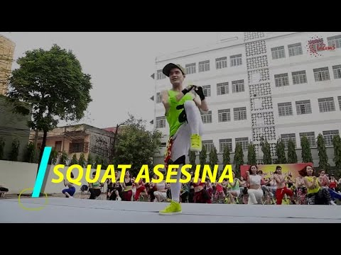 SQUAT ASESINA | Zumba Fitness Vietnam | Zumba Dance Workout | Lazum3