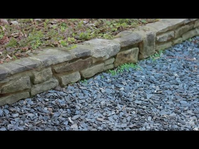 How To Lay Out Gravel Landscaping Landscaping Basics Youtube