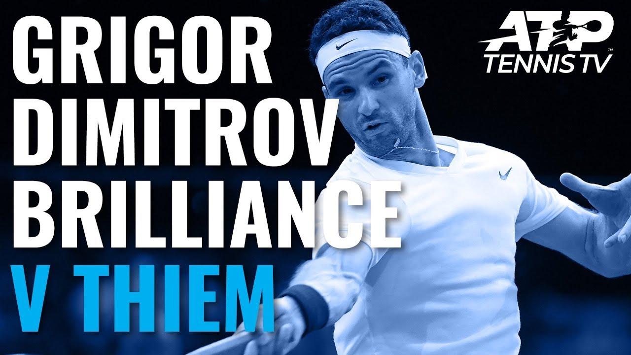 Grigor Dimitrov Brilliance in Win vs Thiem | Paris 2019