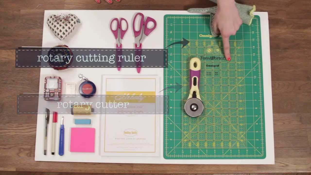Simple quilting products for novices