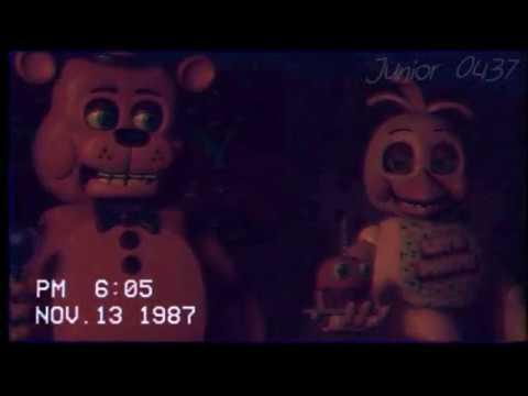 [FNAF] 1987 Freddy Fazbear's stage footage