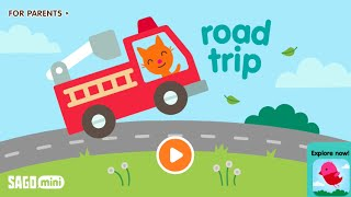 Sago Mini Road Trip | Best iPad iPhone App | Videos for Kids