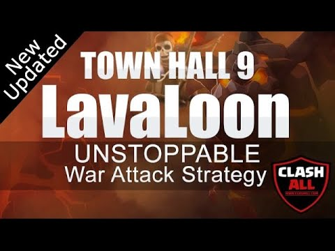 TH9 LavaLoon UNSTOPPABLE War Attack Strategy   Town Hall 9 LavaLoon Strategy   Clash of Clans