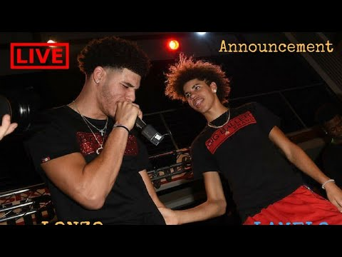 New Lonzo Ball and Lavar Ball Announcement to Lithuania