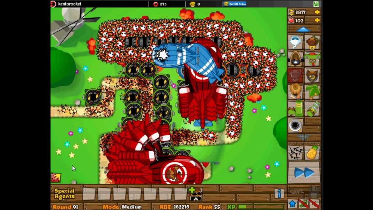 Bloons Tower Defense 5 - BTD 5 - Ninja Kiwi, Creators of ...