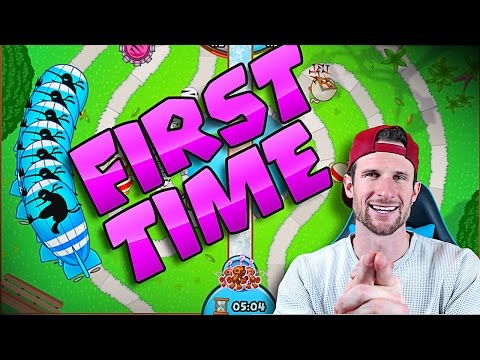 MY FIRST TIME  ::  Bloons TD Battles  ::  NEW GAME MODE!