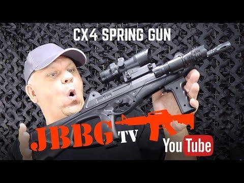 CX4 SPRING AIRSOFT BB GUN
