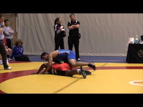 2013 Wesmen Duals: 130 kg Baldwin Asala vs. Jordan Huezo