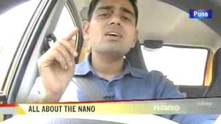 How does the Tata Nano drive?