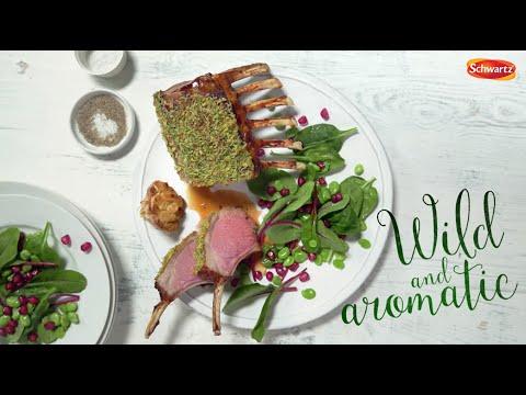 Lamb Loves Rosemary - Spring Lamb Recipes - Schwartz Spring Food
